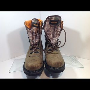 Wolverine boots size 10 w30090